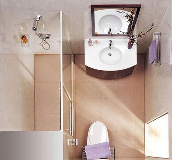 Thiết kế phòng tắm có diện tích nhỏ 3m2