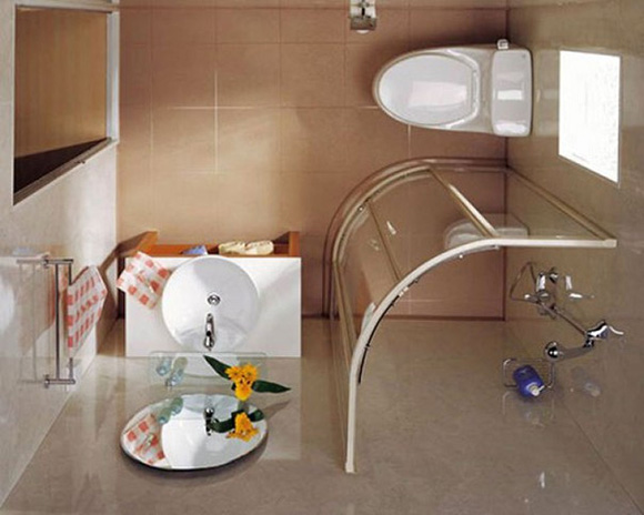 9 mẫu thiết kế phòng tắm có diện tích nhỏ 3m2