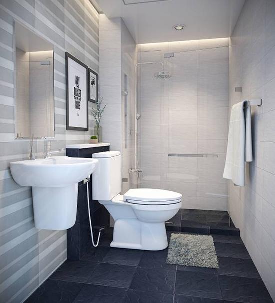 mẫu nhà tắm đẹp đơn giản