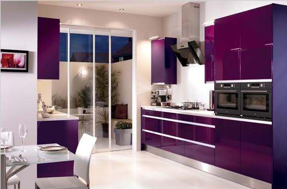 Ý nghĩa màu tím trong thiết kế