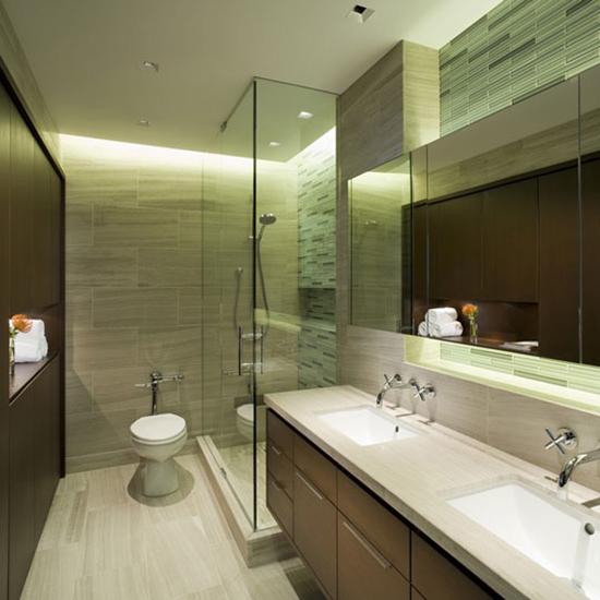 Vách kính phòng tắm tiện nghi